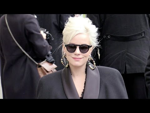Rita Ora, Lily Allen and more arriving at the Chanel fashion show.