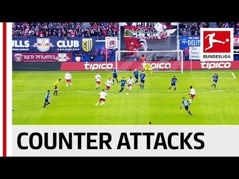 Top 10 Counter Attacks 2016/17 - Full Speed with Chicharito, Werner, Fabian & Co.