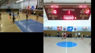 Прямая трансляция МГПУ баскетбол 20.10.2016 (Ж)