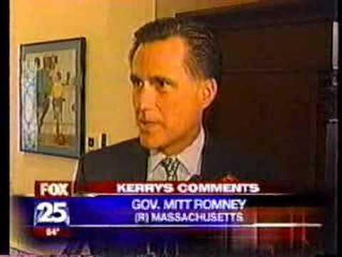 """Mitt Romney Blasts John Kerry's """"Joke"""""""