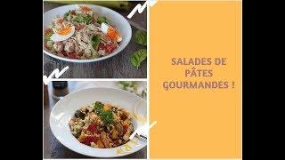 Cuisine de l'été : salades de pâtes estivales , faciles et gourmandes !