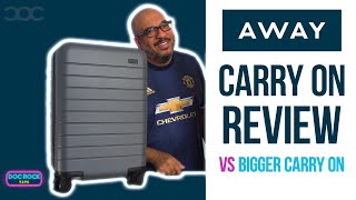 Away Carry On Luggage Review & Comparison of Away Carry On vs The Away Bigger Carry On 🆚 [2019]🔴