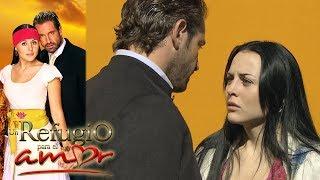 Un refugio para el amor - Capítulo 5: Luciana y Rodrigo se encuentran por primera vez | Tlnovelas