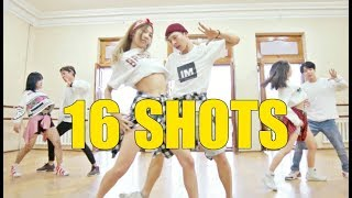 16 SHOTS - Stefflon Don | Choreography Chuba | Fam Dance Studio