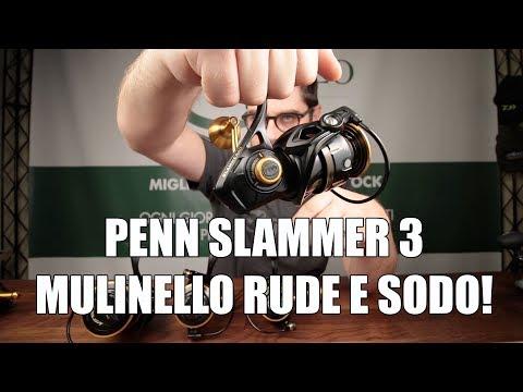 """mulinello Penn Slammer III - mulinello per uso """"rude"""""""
