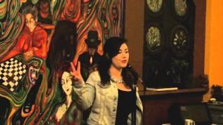 Clementine Von Radics - Poetics Corvallis Jan 23 2015 - Interzone Coffee House, Corvallis, OR