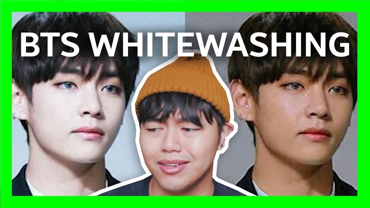 Being A Dark Asian Bts Whitewashing Youtube