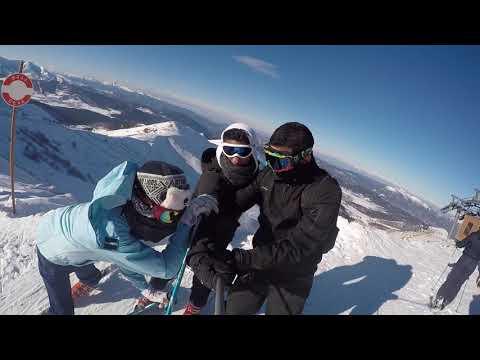 Bakuriani Skiing - Jan 2018