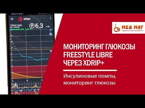 Мониторинг глюкозы Freestyle Libre - оцениваем результат через xDrip
