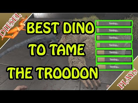 ARK HAPPENED - BEST DINO TO TAME THE TROODON!