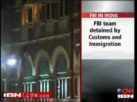 FBI team detained at Bombay airport, released later
