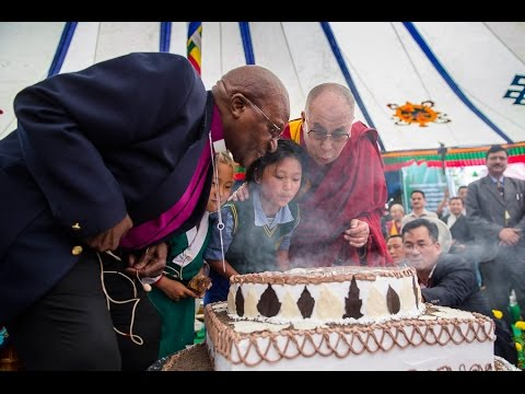 His Holiness 80th Birthday Celebration at Upper TCV School