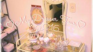 ❤ドレッサー紹介❤My Dresser/Vanity Tour.+*2016