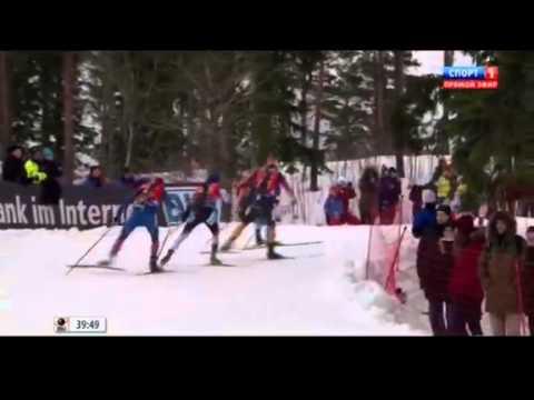Биатлон, 8 Этап кубка мира, Холменколлен, Эстафета, Мужчины  15 02 2015