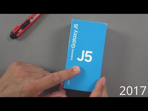 Samsung Galaxy J5 (2017): Unboxing & Ersteindruck | deutsch