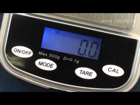 Миниатюрные весы