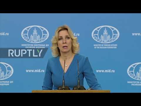 Russia: UN Syria resolution encourages 'destabilisation' of political situation - Zakharova