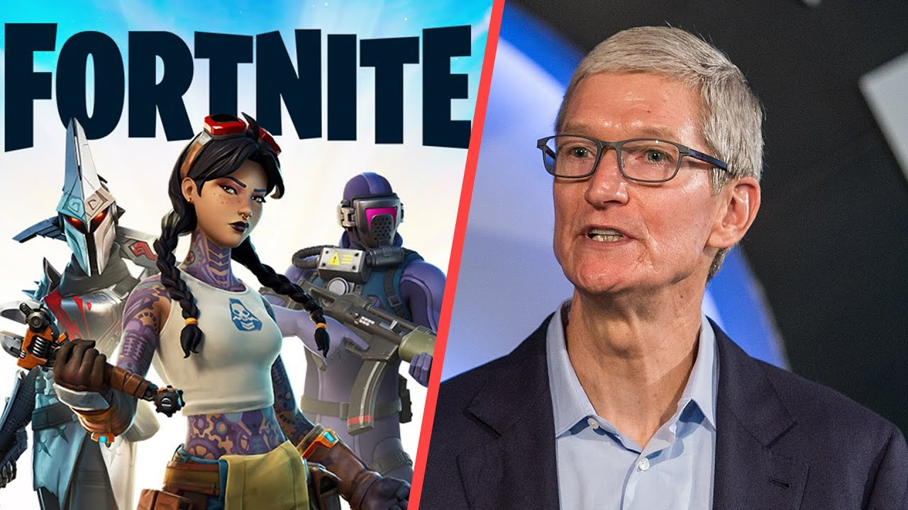 Fortnite Sues Apple Over App Store Dispute...