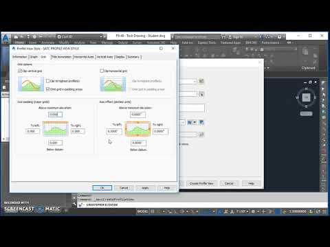 Creating a Surface Profile and Profile View in Civil 3D