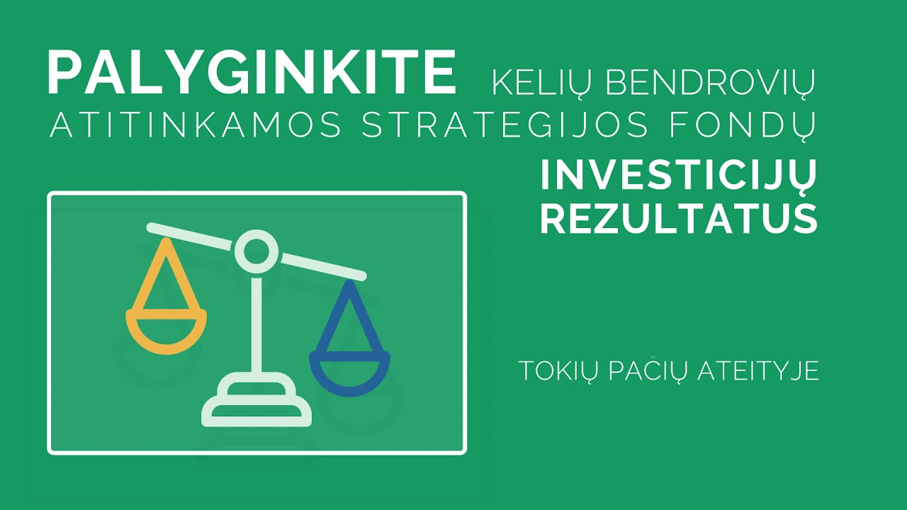 investicinio fondo prekybos strategija