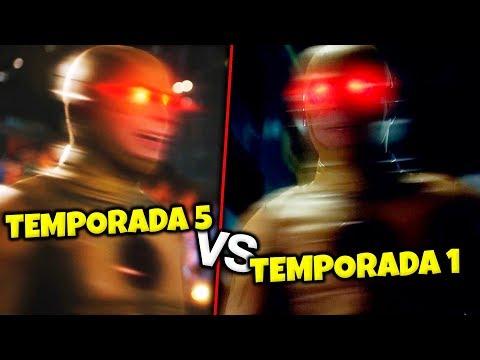 Le CAMBIARON la VOZ a REVERSE FLASH - The Flash Temporada 5 vs Temporada 1 TEST DE PRUEBA