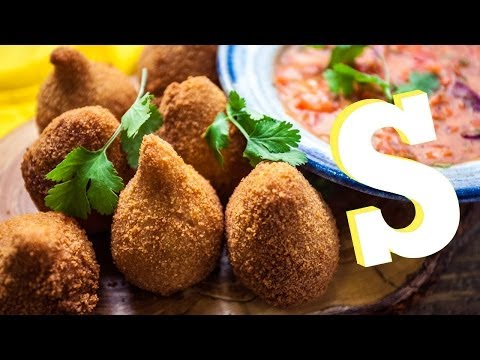 Street Food: Coxinhas... Sorted Eats Brazil