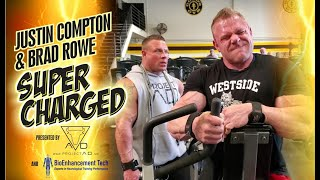 JUSTIN COMPTON & BRAD ROWE'S BACK DAY IN THE MECCA!