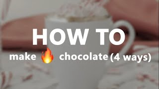 How to Make the Best Hot Chocolate | Winter Cocoa Recipes by Bing