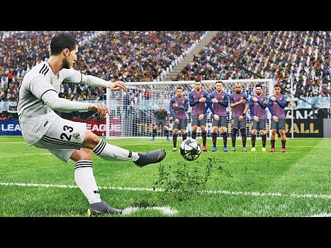 PES 2019 - Free Kick Compilation #13 HD PS4 PRO