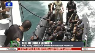 News Across Nigeria: Naval Formations Hold Tactical Exercises