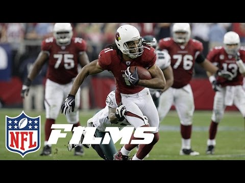 #8 Larry Fitzgerald | Top 10 Wide Receivers of the 2000s | NFL Films