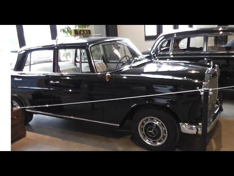 Mercedes-Benz 190 C (W 110) - Historical old german car 1960's