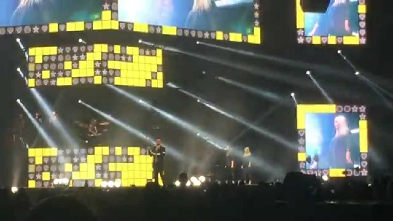 Olly Murs - Entrance/Did You Miss Me? - Sheffield Arena 31/03/2015
