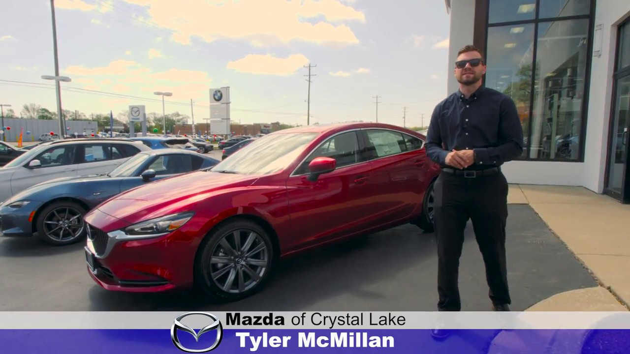 Crystal Lake Mazda >> Test Drive The 2018 Mazda 6 With Tyler At Mazda Of Crystal Lake In Illinois