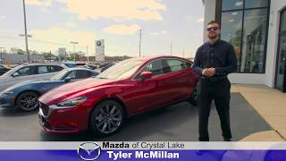 Test drive the 2018 Mazda 6 with Tyler at Mazda of Crystal Lake in Illinois