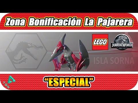 LEGO Jurassic World - Especial - Zona de Bonificación La Pajarera - 1080p HD