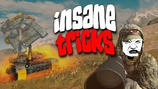 BF4 - INSANE TROLLS & TRICKS