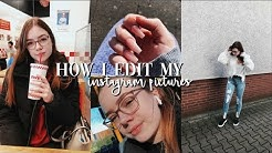 HOW I EDIT MY INSTAGRAM PICTURES | Hannah Theresa