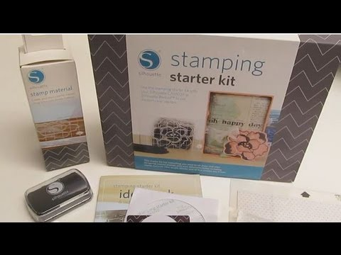 Stamping Starter Kit For Silhouette Cameo