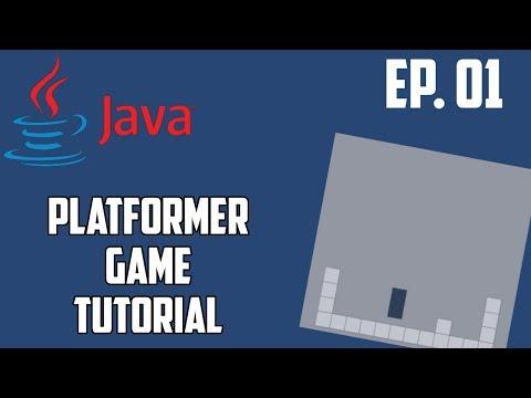 Java Platformer Game Tutorial - Ep. 1 Basic Movement and Collisions thumbnail