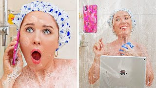 Download lagu BATHROOM AND RESTROOM SURVIVAL GUIDE || Bathroom Hacks And Pranks You Can't Miss