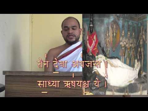 Purusha suktham Krishana yagur veda Easy catch