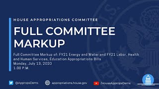 FY21 Energy & Water and Labor-HHS-Education Appropriations Bills (EventID=110879)