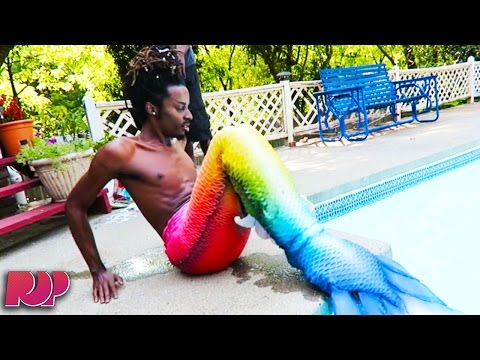 Meet The Real Life Merman