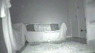 Paranormal, Ghost, Spirit, Orb Captured On Infrared Camera