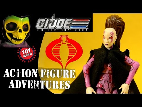 Pythona - GI Joe Collectors Club Exclusive Membership Figure - Toy Review