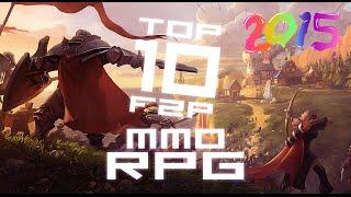 TOP 10 MELHORES MMORPGS F2P (2017-2018) [GRÁTIS/FREE]