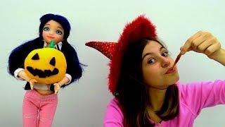 Видео для девочек - вечеринка Хэллоуин с Маринетт
