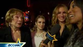 Hot Valentine's Day Plans For Julia Roberts, Emma Roberts & Shirley MacLaine