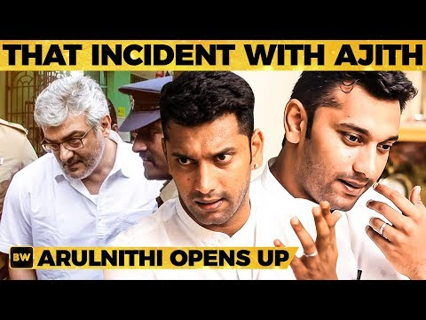 Thala Ajith's Shocking Behaviour - Arulnithi Shares Unknown Stories From Past | MY